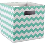 DII Hard Sided Collapsible Fabric Storage Container for Nurs