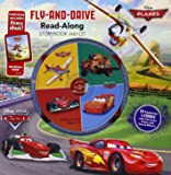 Cars / Planes Fly-and-Drive Read-Along Storybook and CD: Purchase Includes Disney eBook! - CD Features 4 Stories with Character Voices and Sound Effects!