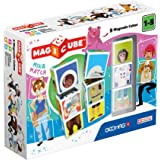 Geomag 124 Magicube Mix & Match - Magnetic Construction Set, 9 Cubes