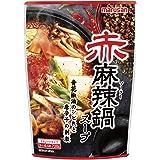 マルサン 赤麻辣鍋スープ 720g ×4袋