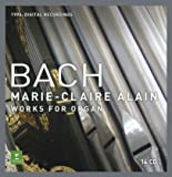 Marie-Claire Alain: Complete Bach Organ Works-1990