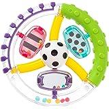 サッシー(Sassy) ワンダーホイール・ハンドラトル 赤ちゃんおもちゃ(0ヶ月から対象) 知育玩具 ラトル TYSA8…