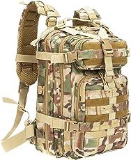 フリーランミリタリー バックパック多機能リュック 大容量防水戦術バックパック