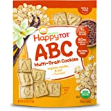 Happy Tot Super Smart Snacks, Organics Toddler Snack, Vanilla Oat + Flaxseed, 4.4 Ounce Bag (Packaging May Vary)
