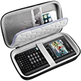 PAIYULE Travel Case for Texas Instruments Ti Nspire CX CAS/II/Ti-84 Plus CE Graphing Calculator, Large Capacity for Pens, Cab