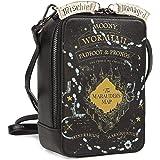 Danielle Nicole Harry Potter Marauders Map Glow In The Dark Crossbody Bag