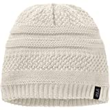 Jack Wolfskin Women's White Rock Women Knitted Beanie Hat