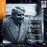 Honegger: Symphony No.1 / Dutilleux: No.2