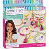 Make It Real – Neo-Brite Chains & Charms. Bracelet Making Kit for Girls and Tweens to Create Unique Bracelets, Tassel Charms,