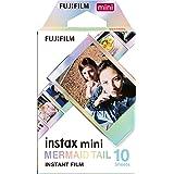 instax 16648402 Fujifilm Mini Mermaid Tail Film- 10 Exposures