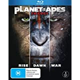 Planet Of The Apes Trilogy [3 Disc] (Blu-ray)