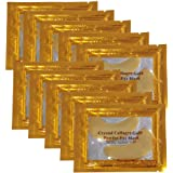 24K Gold Powder Gel Collagen Eye Masks Sheet Patch, Anti Aging,Remove Bags,Dark Circles &Puffiness,Anti Wrinkle,Moisturising,