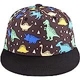 Kids Boy Girl Baseball Cap Baby Sun Hat Adjustable Toddler Trucker Hats with Flat Brim for Summer Outdoor