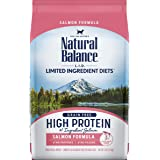 Natural Balance L.I.D. Limited Ingredient Diets High Protein Dry Cat Food, Salmon Formula, 5 Pounds, Grain Free