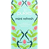 Pukka Organic Mint Refresh Herb, 20 Tea Bag, 20 Herbal Tea Sachets, 40g