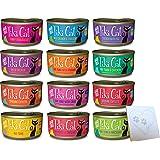 Tiki Cat Grain-Free Huge Variety Pack - 12 Total Flavors: Hawaiian Grill, Lanai Tuna, Makaha Mackerel, Tahitian Grill, Bora B