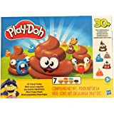 Play-Doh Lil' Poop Troop 7 cans 30+ Poo Combinations