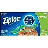 (90 Count) - Ziploc Sandwich Bags - 90 ct
