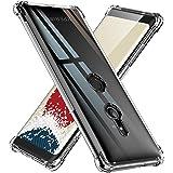 【ONES】 Xperia XZ3 ケース 高透明 耐衝撃 エアバッグ 超軍用規格 〔滑り止め、すり傷防止、柔軟〕〔美しい、光沢感、軽·薄〕 Qi充電 衝撃吸収 HQ·TPU クリア SONY カバー