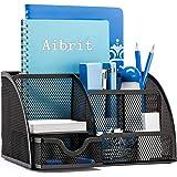 Aibrit デスク上置棚 デスクオーガナイザー ペンスタンド 卓上収納 ペン立て 文房具 小物入れ リモコンスタンド 便利 机上用