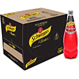 Schweppes Raspberry Zero Sugar Soft Drink, 12 x 1.1L