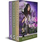 Witches and Wine Box Set Books 4-6: Cozy Mysteries (Witches and Wine Series Boxset Book 2)