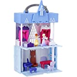 Disney Frozen 2 Pop Adventures - Arendelle Castle Play Set with Handle inc Elsa & Anna Dolls - Pop Up Floor - Kids Toys - Age