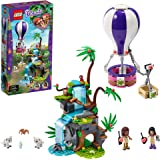 LEGO Friends Adventure with The Tiger Hot Air Balloon Jungle Rescue 41423 Building Kit