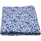 Mandala Kantha Bed Cover Indian Ombre Cotton Kantha Quilts Queen Blue Floral Throw Coverlets Hippie Handmade Quilts