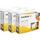 Medela Quick Clean Micro Steam Bags, 15 Count, Steam Bags for Bottles and Breast Pump Parts, Disinfects Most Breast Pump Acce