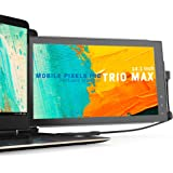 Mobile Pixels 14'' Trio Max Portable Monitor for Laptops,Full HD IPS USB A/Type-C USB powered On-The-Go Mobile Display, Plug