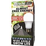 MiracleLED 604654 Almost Free Energy Full Spectrum Wide Angle Grow Light 9W LED Replacing Old, hot, 100W
