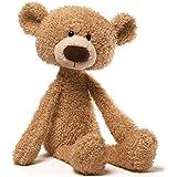 "GUND 4040131 Toothpick Teddy Bear Stuffed Animal Plush, Beige, 15"", 38.1 cm"