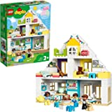 LEGO DUPLO Town 10929 Modular Playhouse Building Kit (129 Pieces)