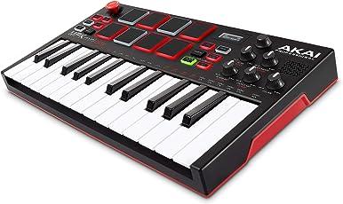 Akai Professional スタンドアローン・MIDIキーボードコントローラー【内蔵音源、電池駆動、スピーカー搭載】 MPK Mini Play