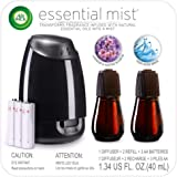 Air Wick Essential Mist, Essential Oil Diffuser, (Diffuser + 2 Refills), Lavender & Almond Blossom & Fresh Water Breeze, Air