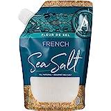 Artisan Salt Company Fleur de Sel French Flower of Salt, Pour Spout Pouch, 15 Ounce