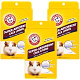 Arm & Hammer Super-Absorbent Cage Liners for Guinea Pigs, Hamsters, Rabbits & All Small Animals | Best Cage Liners for Small