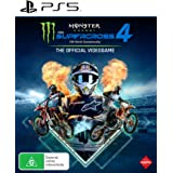 Monster Energy Supercross 4 The Official Videogame - PlayStation 5