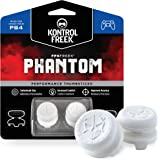 KontrolFreek FPS Freek Phantom for PlayStation 4 (PS4) and PlayStation 5 (PS5) | Performance Thumbsticks | 2 High-Rise Concav