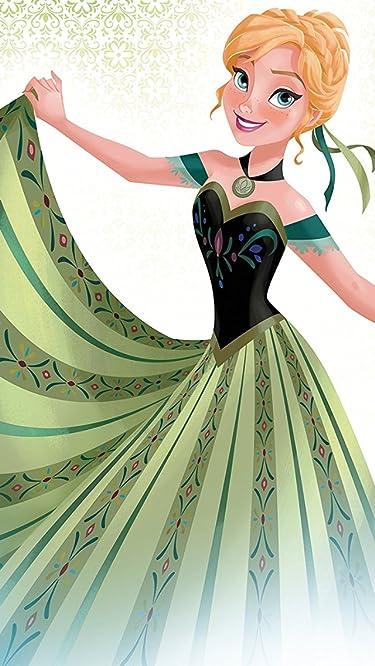 ディズニー  iPhone/Androidスマホ壁紙(640×1136)-1 - 『アナと雪の女王』アナ