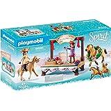 PLAYMOBIL 70396 Spirit Riding Free Christmas Concert Playset (92 Pieces),Multicolor