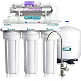 APEC Water Systems ROES-PHUV75 Essence Series Top Tier Alkaline Mineral and Ultra-Violet UV Sterilizer 75 GPD 7-Stage Ultra S