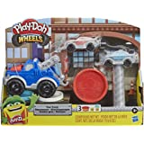 Play-Doh Wheels Tow Truck Toy for Kids 3 Years and Up with 3 Non-Toxic Play-Doh Colors