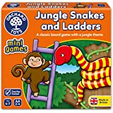Orchard Toys Junle Snakes and Ladders Mini Game