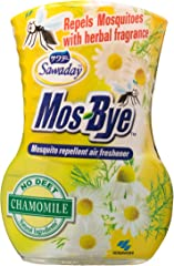 Sawaday Mos-Bye Mosquito Repellent Air Freshener, Chamomile, 275 ml