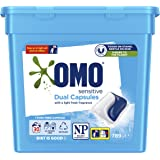 Omo Laundry Liquid Dual Capsules Front & Top Loader Sensitive 30 Pack (Packaging May Vary)