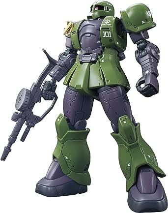 ガンプラ HG 機動戦士ガンダム THE ORIGIN ザクI (デニム/スレンダー機) 1/144スケール 色分け済みプラモデル