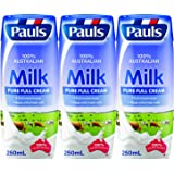 Pauls Pure UHT Milk, 250ml, (Pack of 6)