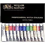 ウィンザー&ニュートン 水彩絵具 ウィンザー&ニュートン プロフェッショナル ウォーターカラー 12色セット 5ml
